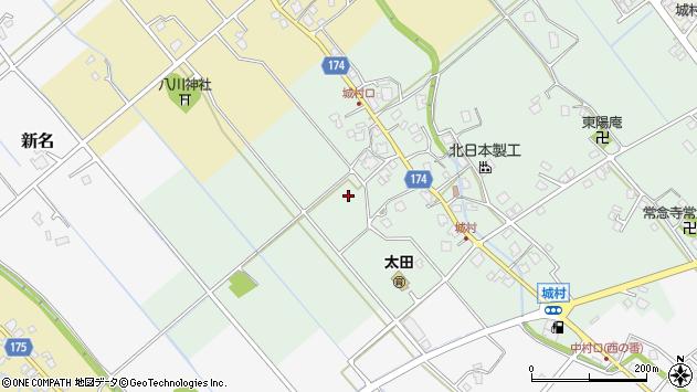 〒939-8114 富山県富山市城村の地図
