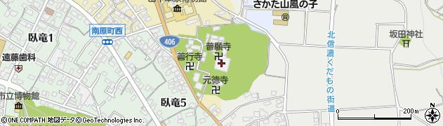 普願寺周辺の地図
