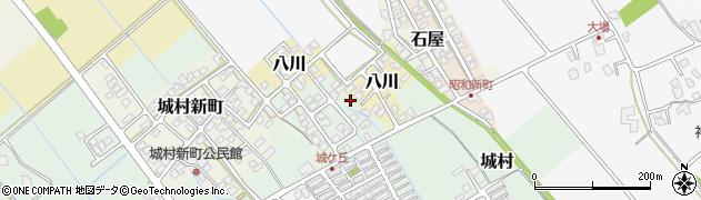 富山県富山市城新町周辺の地図