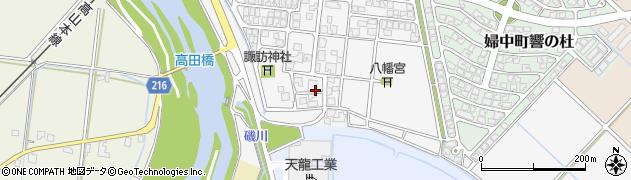富山県富山市婦中町袋周辺の地図