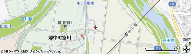 富山県富山市婦中町小野島周辺の地図