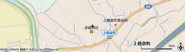 栃木県宇都宮市上横倉町周辺の地図