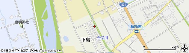 富山県小矢部市下島周辺の地図