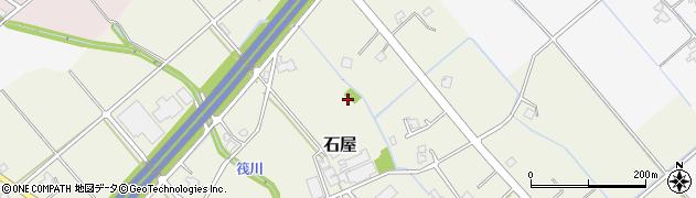 富山県富山市石屋周辺の地図