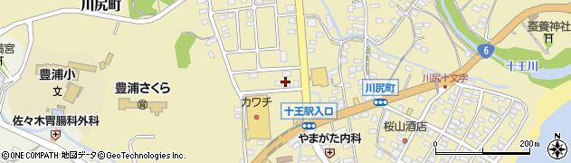 川一工匠周辺の地図