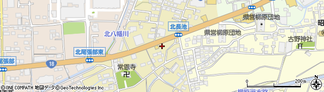 長野県長野市北長池周辺の地図