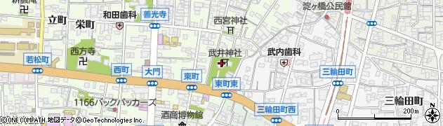 武井神社周辺の地図