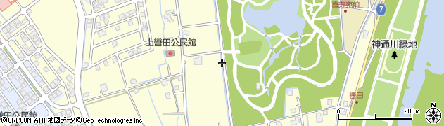 富山県富山市婦中町上轡田周辺の地図
