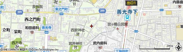 梅林庵周辺の地図