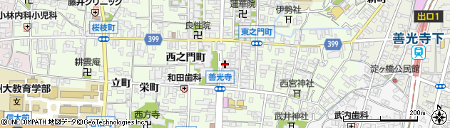 白蓮坊周辺の地図
