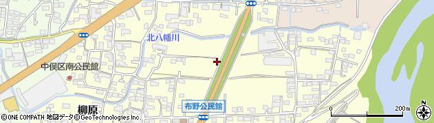 長野県長野市柳原周辺の地図