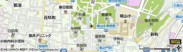 長野県長野市長野元善町周辺の地図