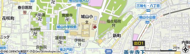 長野県長野市長野東之門町周辺の地図