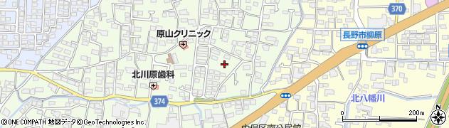 長野県長野市小島周辺の地図