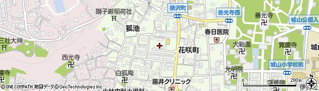 長野県長野市長野花咲町周辺の地図