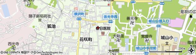 長野県長野市長野(横沢町)周辺の地図