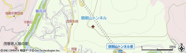長野県長野市茂菅周辺の地図