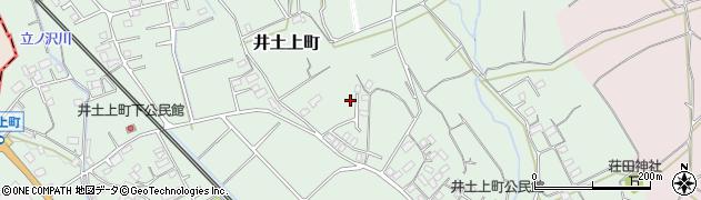 群馬県沼田市井土上町周辺の地図