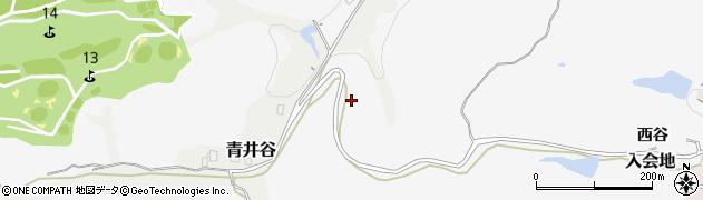 富山県射水市入会地(西谷)周辺の地図