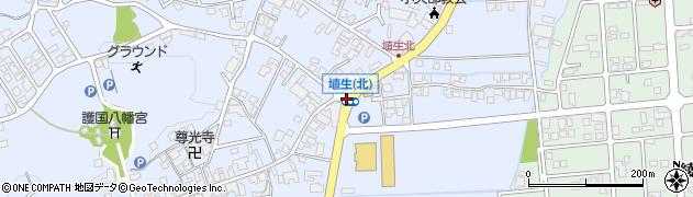 埴生(北)周辺の地図