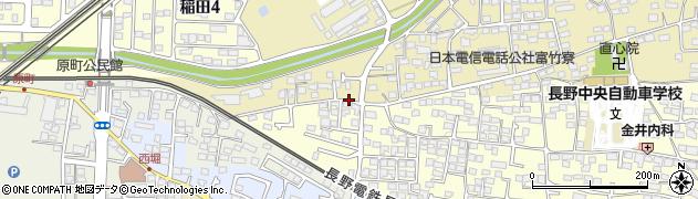 長野県長野市富竹周辺の地図
