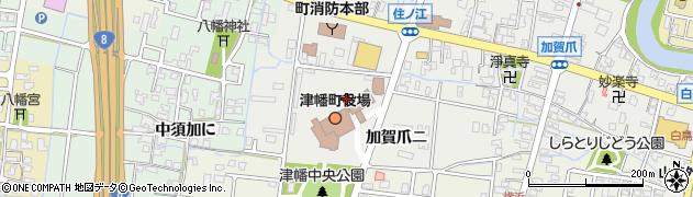 石川県河北郡津幡町周辺の地図