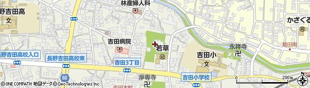天周院周辺の地図