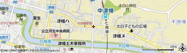 県道津幡周辺の地図
