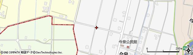 富山県高岡市今泉周辺の地図
