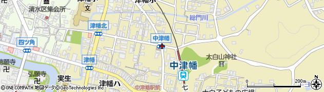 中津幡周辺の地図