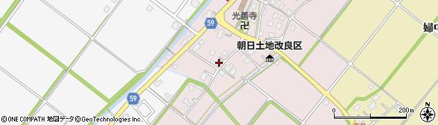 富山県富山市婦中町下条周辺の地図