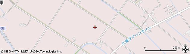 栃木県さくら市柿木澤周辺の地図