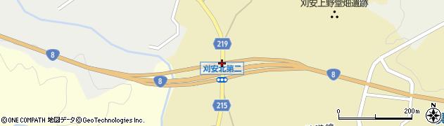 刈安北周辺の地図