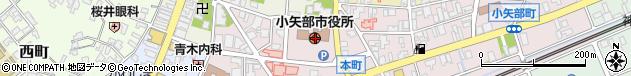 富山県小矢部市周辺の地図