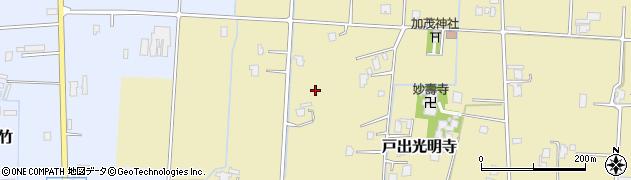 富山県高岡市戸出光明寺周辺の地図