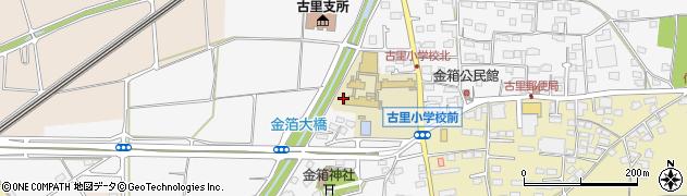 長野県長野市金箱周辺の地図