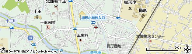 中野理容店周辺の地図