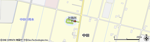 富山県高岡市中田反保島周辺の地図
