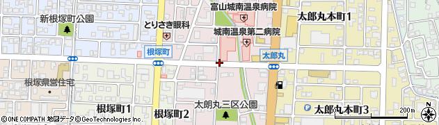 富山県富山市太郎丸西町周辺の地図