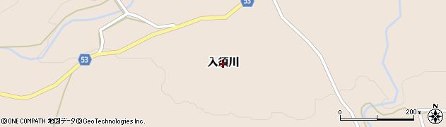 群馬県みなかみ町(利根郡)入須川周辺の地図