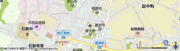 等源寺周辺の地図