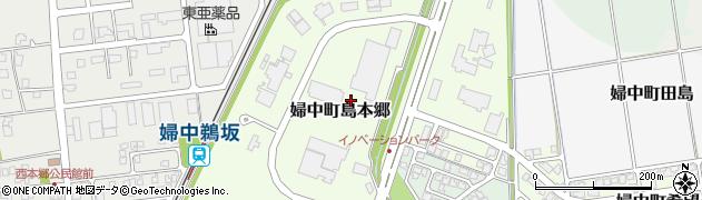 富山県富山市婦中町島本郷周辺の地図