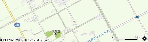 栃木県さくら市狹間田周辺の地図