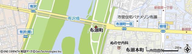 富山県富山市布瀬町周辺の地図