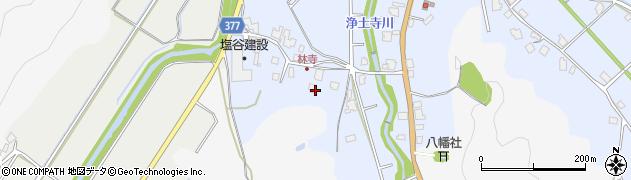 富山県射水市浄土寺(林寺)周辺の地図