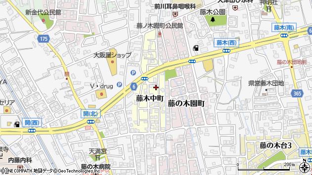 〒930-0941 富山県富山市藤木中町の地図