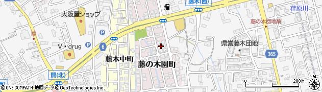 富山県富山市藤の木園町周辺の地図