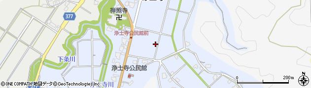 富山県射水市浄土寺周辺の地図