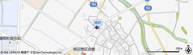 柿沢周辺の地図