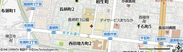 富山県富山市西田地方周辺の地図